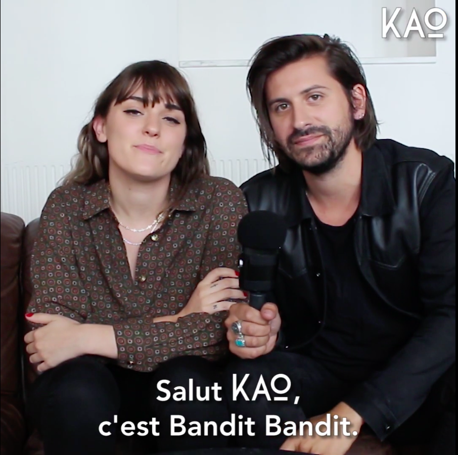 Bandit Bandit - interview KAO MAG