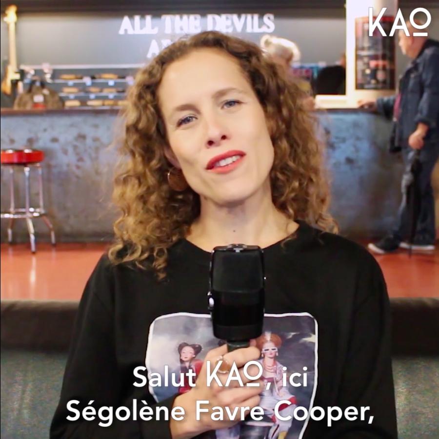 Ségolène Favre Cooper - KAO MAG