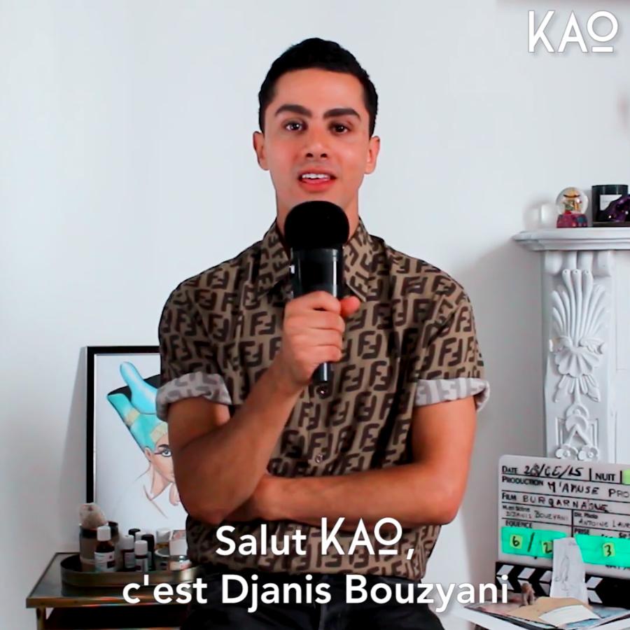 Djanis Bouzyani - Tu mérites un amour- Interview KAO MAG