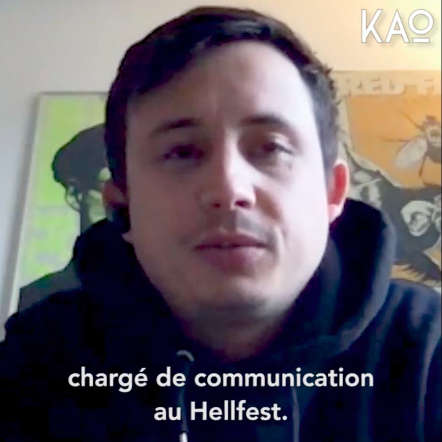 Covid 19 - Culture - Eric Perrin - Hellfest - Interview KAO MAG
