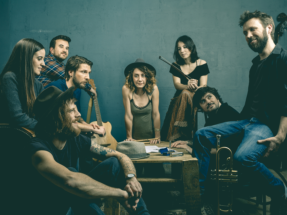 Le groupe de folk The Yokel - Morgon Peak (album Y) - KAO MAG