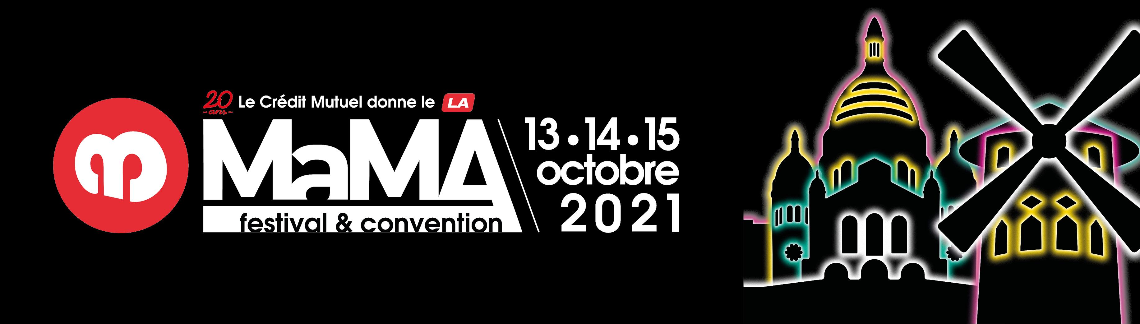 Le MaMA Festival et Convention 2021 · programmation complète